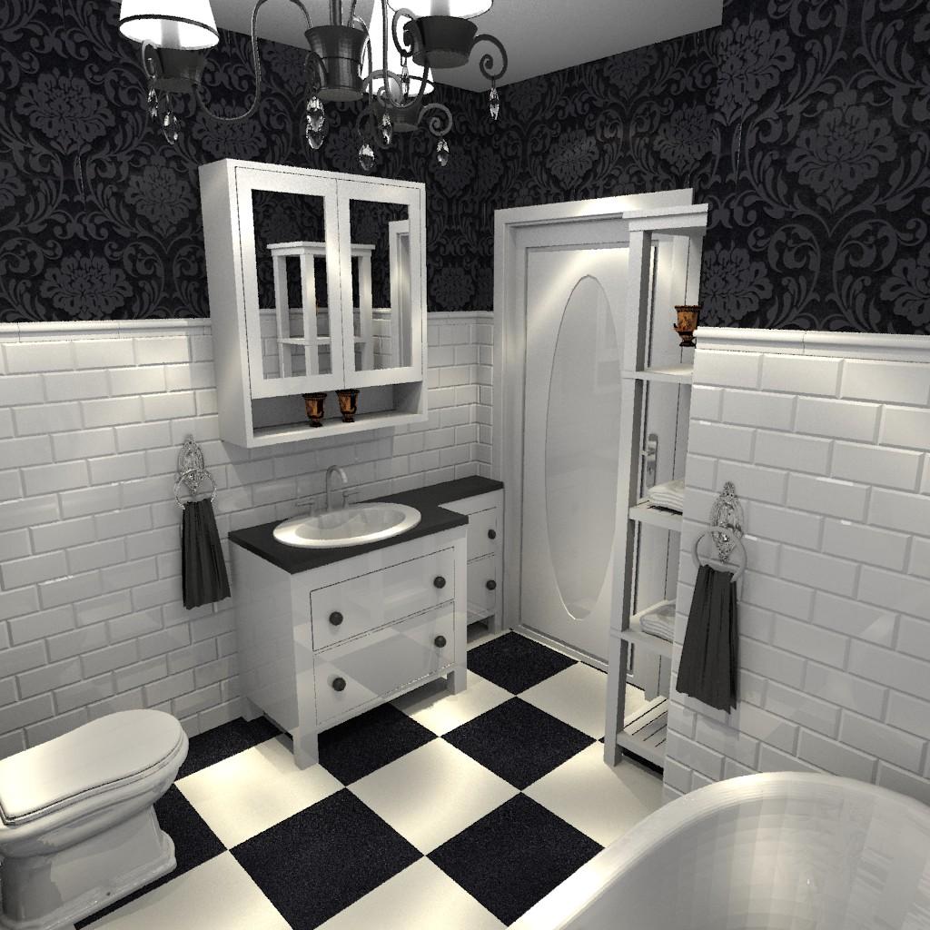 łazienka Retro Aranżacje Wnętrz